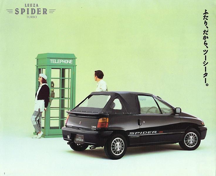 Daihatsu-Leeza-Spider - Keijidosha - Kei Car