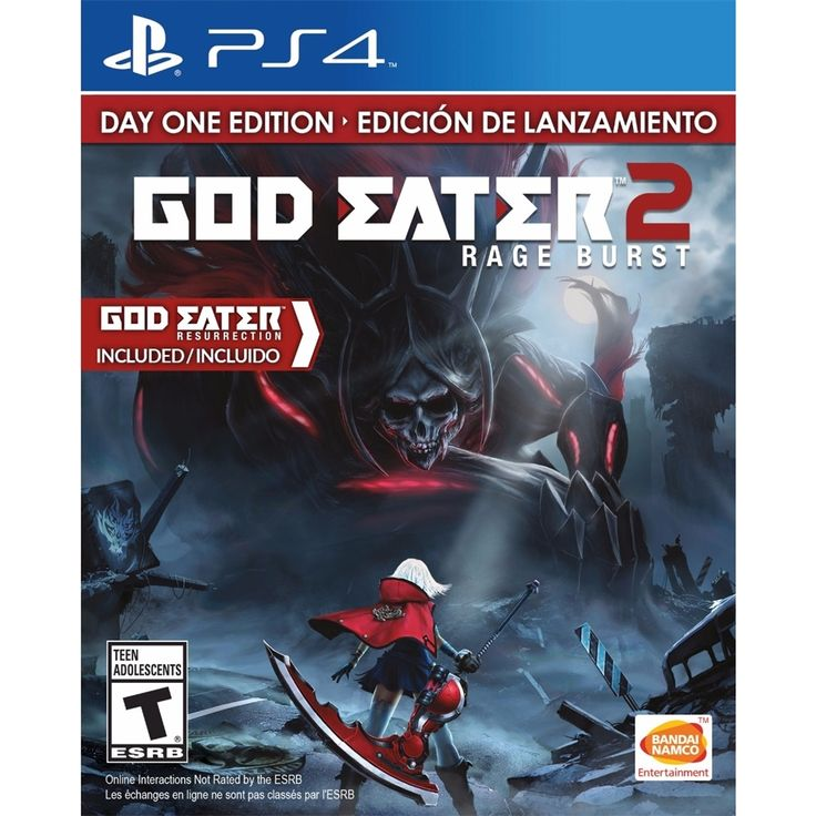 God Eater 2: Rage Burst Day One Edition - PRE-Owned - PlayStation 4