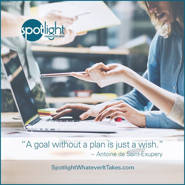 To succeed, it's critical for a business to have a plan based on set goals, qualitative & quantitative research and strategic planning.