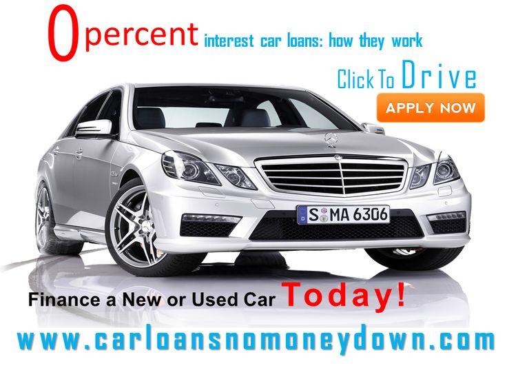 Car Loan Zero Percent Financing