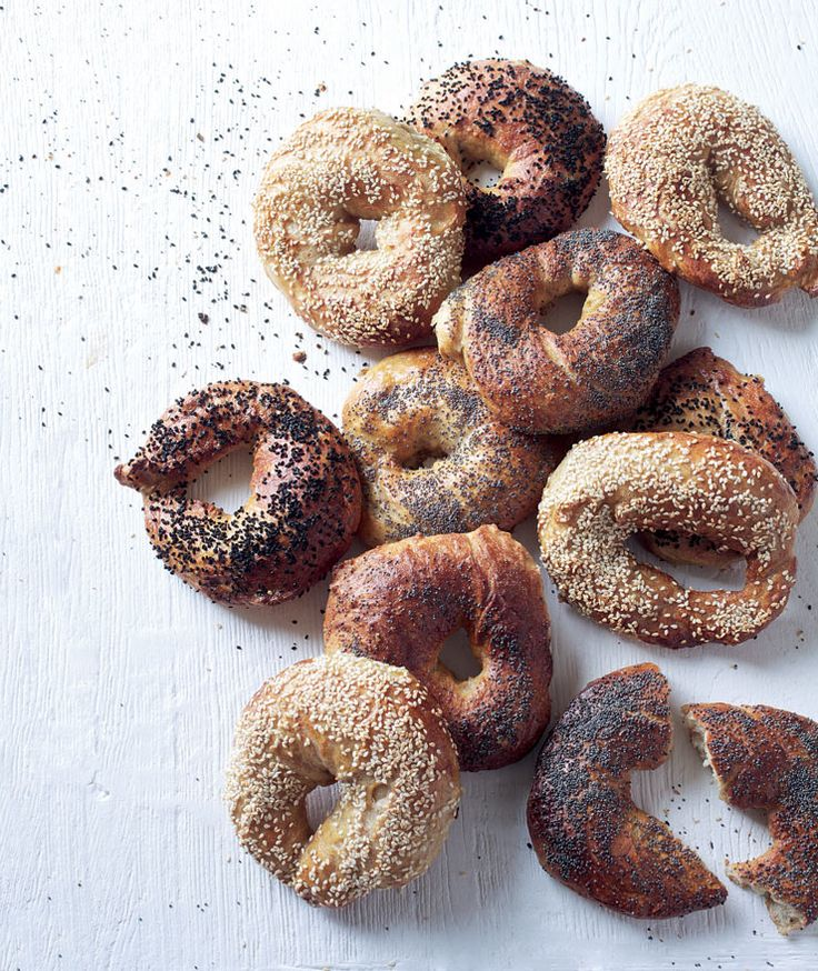 Plain bagels recipe  Beaten, boiled and baked, these bagels are at their best when made over two days