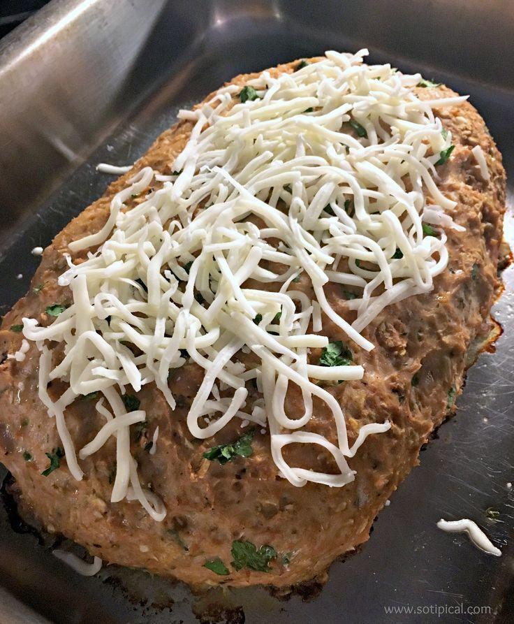 лучший итальянский стиль мясной рулет с сыром
