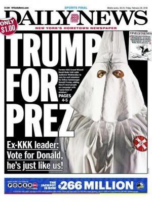 Fomer KKK Grand Wizard David Dukes Issues Strong Trump Endorsement