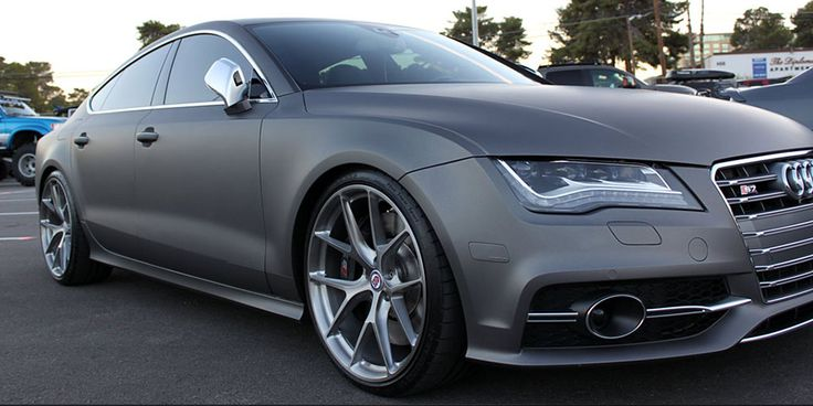 Fourtitude Project Audi S7 At Sema 2013 Modified