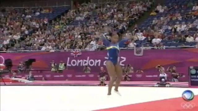 Daiane se aposenta da seleção sem medalhas olímpicas