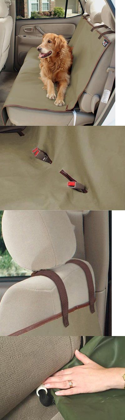 Car Seat Covers 117426: Pet Hammock Car Truck Back Bench Seat Cover Dog Cat Waterproof Travel Protector -> BUY IT NOW ONLY: $48.95 on eBay!