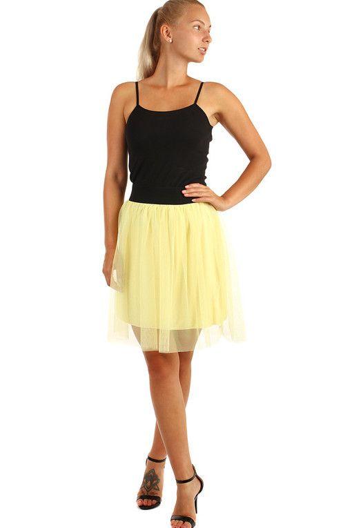 3ffc272a201 Dámská tylová mini sukně
