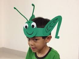 easy to make kids costumes paper cricket - Google Search