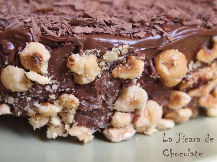 La Jícara de Chocolate: Tarta Ferrero Rocher Sin Gluten y Sin Horno