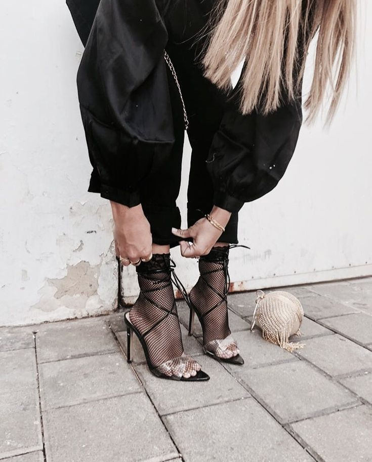 8d3f15027 Black Strappy High Heel Sandals for Formal Outfit or Street Style Looks  & Outfits.