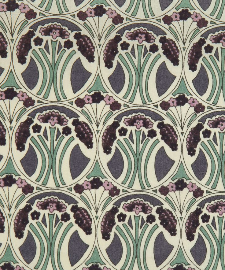 Mauverina E Tana Lawn, Liberty Art Fabrics. Shop more from the Liberty Art Fabrics collection at Liberty.co.uk -- cushion on plain cover again?