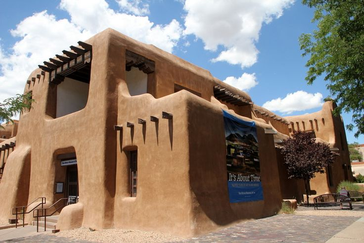 28 best santa fe pueblo and territorial homes images on for Adobe home builders texas