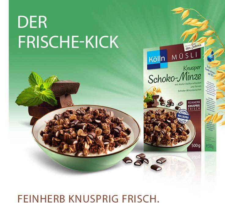 Kölln Müsli Knusper Schoko-Minze: koelln.de