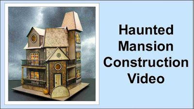 craft knife chronicles: Haunted Mansion Construction Videos