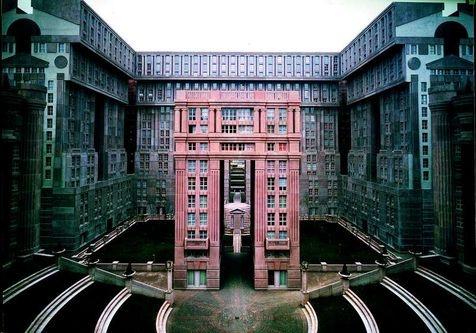 Ricardo bofill 95 pinterest - Architecture des annees 80 ...