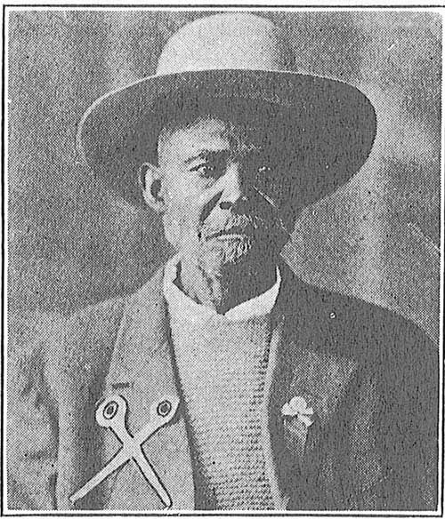 George Glenn, who rode the Chisholm Trail in the 1870's, is the only black cowboy who figured prominently in the history of the Trail.