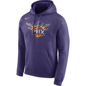 ea950f37a Nike Phoenix Suns Purple Logo Club Hoodie  uns  phoenix  nba ...