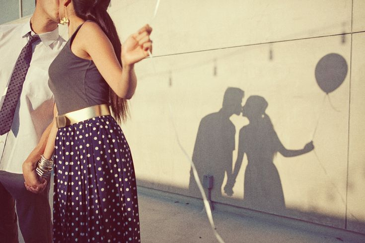 engagement pictures shadow