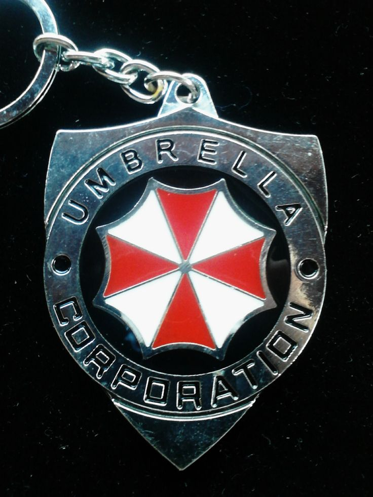 Umbrella Corporation Key Chain