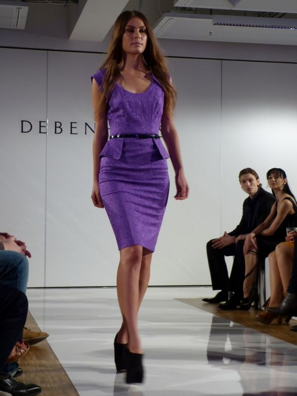 Model at the Debenhams Fashion Show in Munich - Sept 2012 - http://olschis-world.de/  #Debenhams #Womenswear #fashion