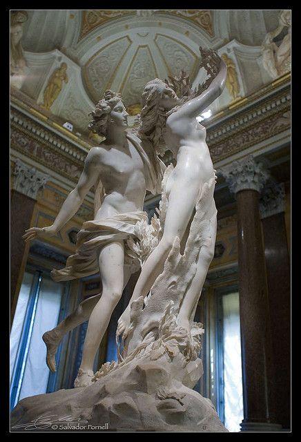 Apollo & Daphne by Bernini. Villa Borghese. Rome. - to see my favorite statue in person
