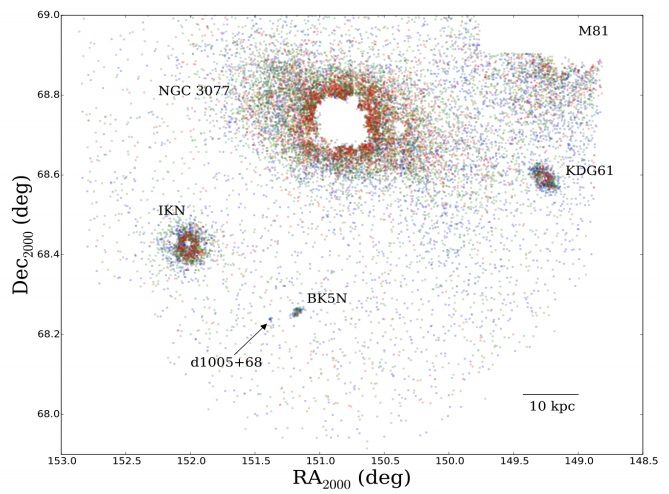Japans Subaru Telescope discovers new faint dwarf galaxy