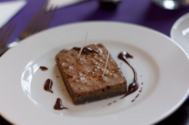 Make lower fat chocolate brownies with this easy recipe
