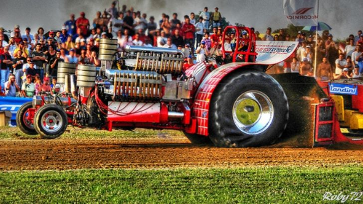 Garden Tractor Pulling Crashes : Tractor pulling google search