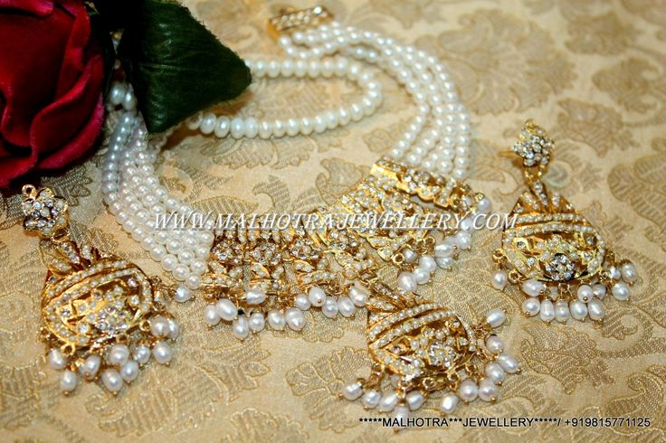 Indian And Traditional Jadau Jewellery These All Sets Are