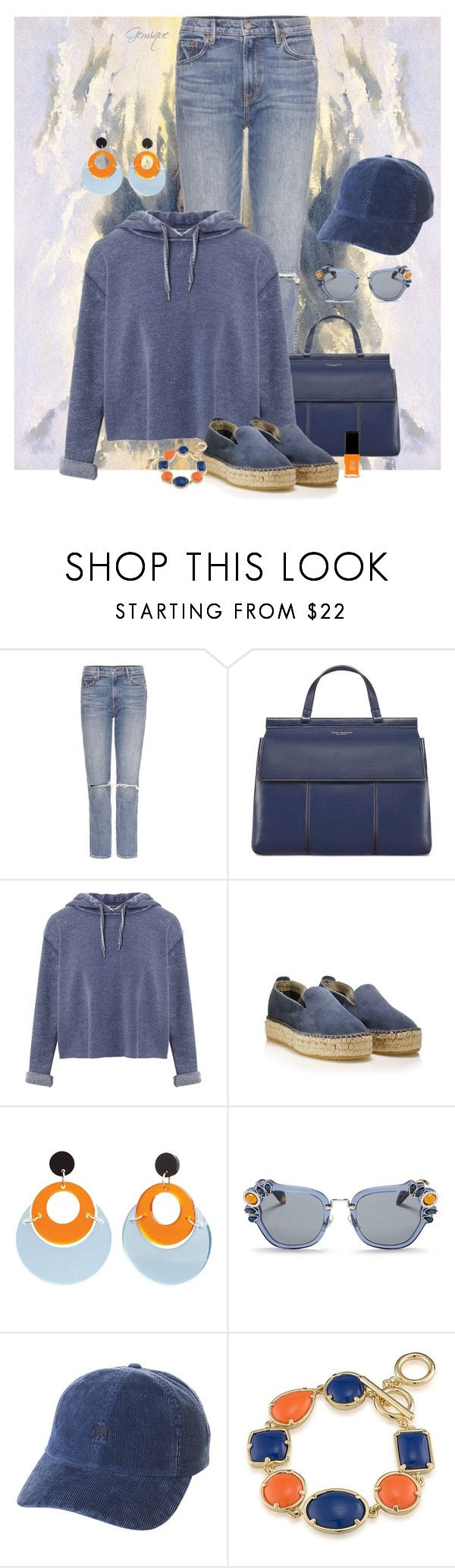 """Hang Out with Me"" by gemique ❤ liked on Polyvore featuring GRLFRND, Tory Burch, Miss Selfridge, Toolally, Miu Miu, Element, 1st & Gorgeous by Carolee and Jin Soon"