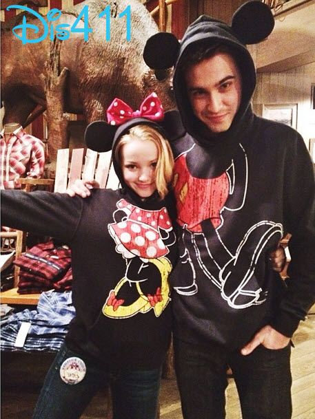 Dove Cameron Wished Ryan McCartan Good Luck As He Left For New York City February 1, 2014