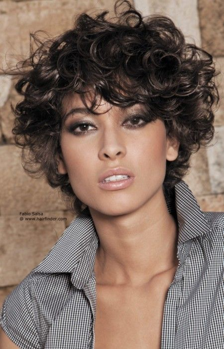 25 best ideas about Short curly hairstyles on Pinterest  Easy