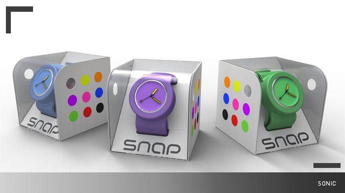 watch packaging design PD
