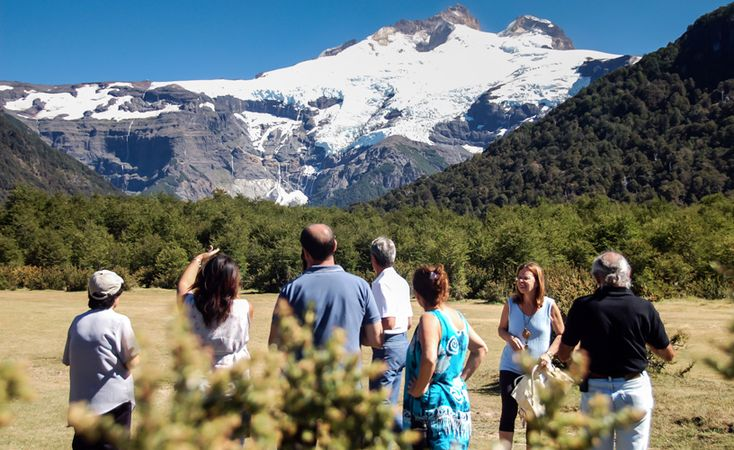 El cerro Tronador, clásico de Bariloche