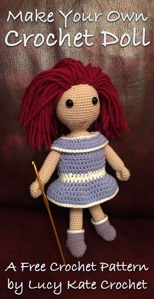 How To Crochet Doll Arms And Body A Basic Crochet Doll