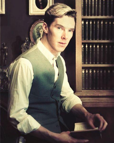 Gosh Benedict you pretty devil! How much I love him…