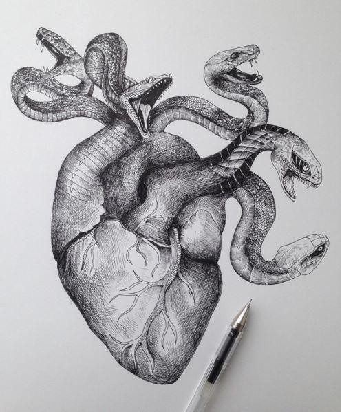 Medusas heart haha
