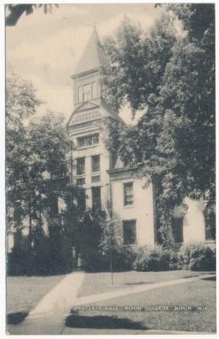 Bartlett Hall. Ripon College. Ripon. Wis