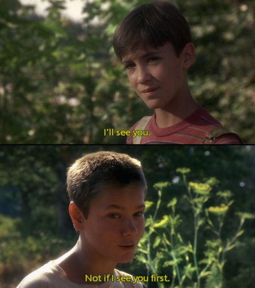 "stand by me essay quotes Stand by me journey essay but to me it was the whole world"" this quote in contrast to what is said after the stand by me stand by me was based."