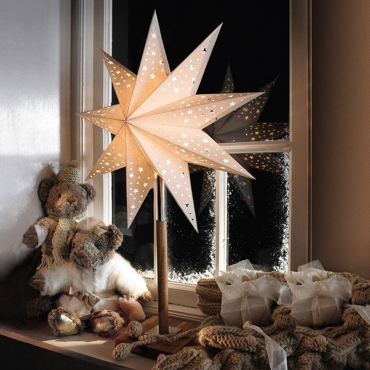 Gwiazda Solvalla jako lampa stołowa 45 x 64cm - bezpieczne & wygodne zakupy w sklepie internetowym Lampy.pl.