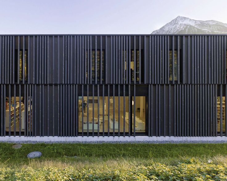 The project consists of a two levels wooden building, which forms an 'ensemble' with two existing buildings; the school and the main municipal,'s administrat...