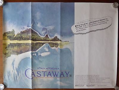 #Castaway film #poster,  View more on the LINK: 	http://www.zeppy.io/product/gb/2/162101738627/