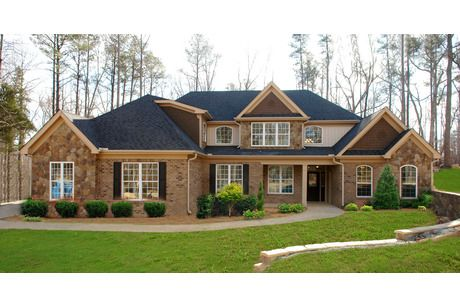 brick and stone home exteriors pictures - Google Search