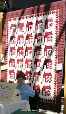 Applique 'n Patch Quilting: Schoolhouse quilt:
