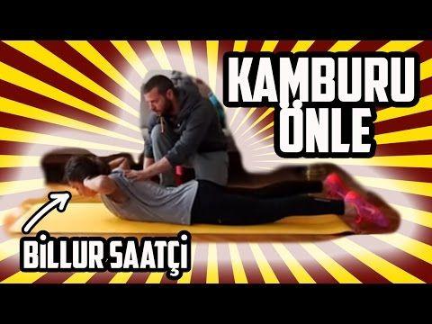 Pilates Bandı ile Dik Duruş Egzersizleri - Kamburluğu Düzelt! - YouTube