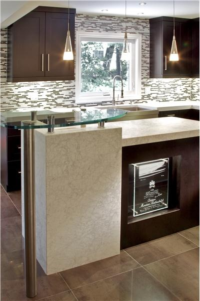 Elegant contemporary kitchen by anastasia rentzos for Andros kitchen bath designs