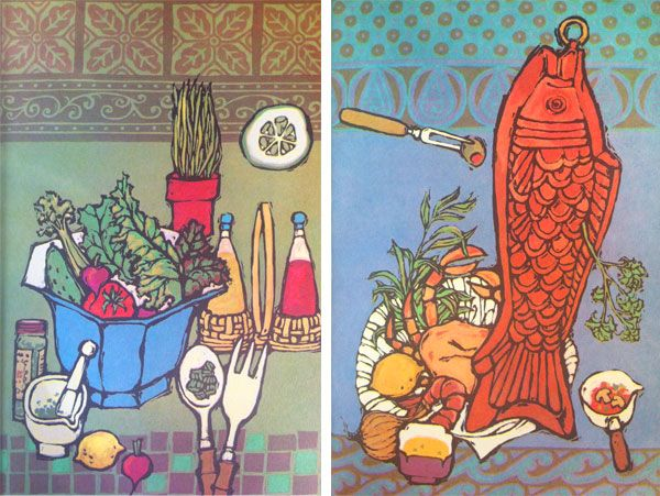 spice islands cook book illustrations by alice harth