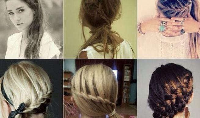 πλεξουδες μαλλιών