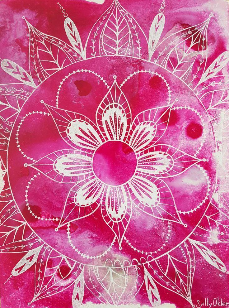 Love Mandala by SallyOkkerse on Etsy