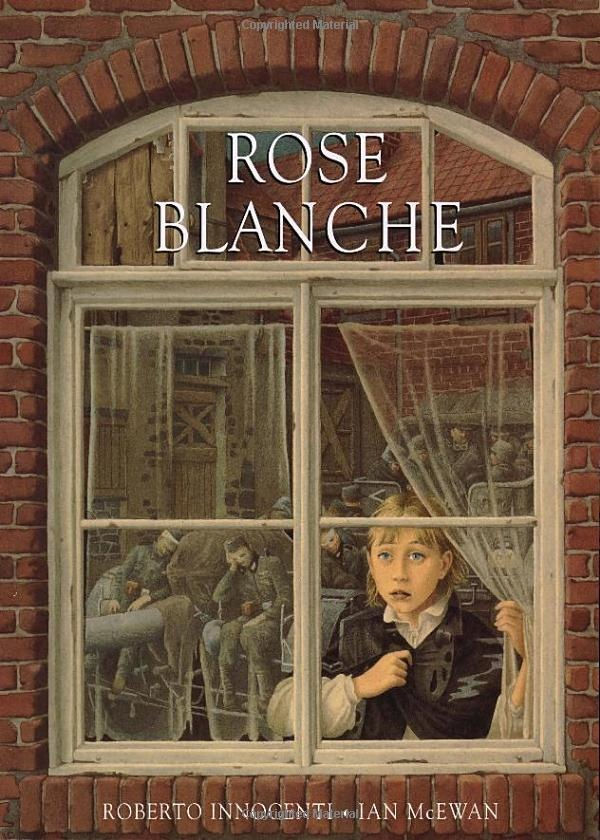 Rose Blanche, observations of wartime Germany from a window, upper KS2 picture text